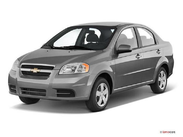 Chevrolet Aveo III LPG