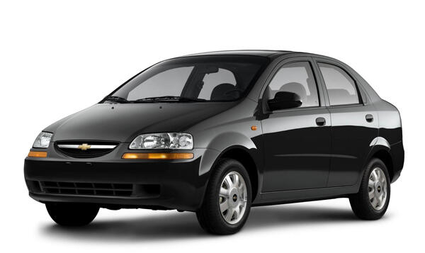 аренда Chevrolet Aveo I ГБО в in Kiev недорого