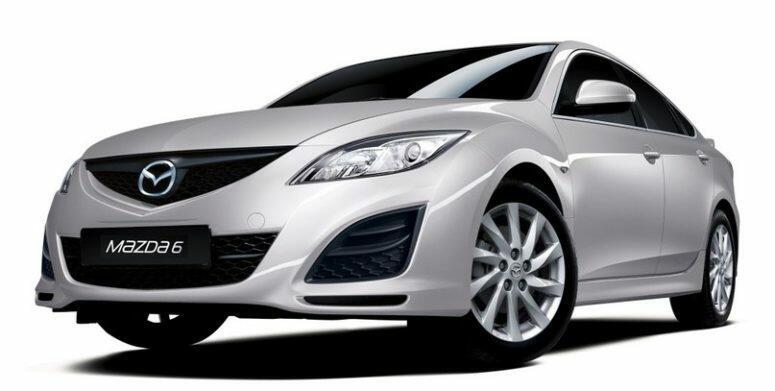 аренда Mazda 6 ГБО в Киеве недорого